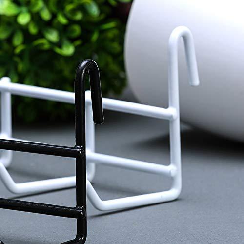 Ganchos Rejilla para Panel Rejilla Pared Blanco