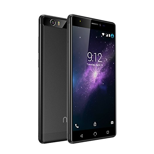 NUU Mobile M3 5.5'' HD 4G LTE Android 7.0 Smartphone, Black by NUU Mobile