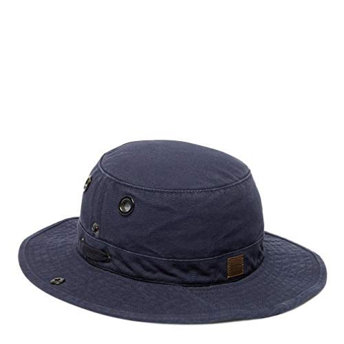 0b5836d99 Amazon.com: Tilley T3 Wanderer Snap-Up Hat - Navy 7 3/8