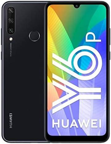 Huawei Y6P - Smartphone 64GB, 3GB RAM, Dual Sim, Midnight Black ...
