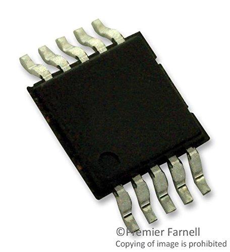 ADM1192-1ARMZ-R7 - DIGITAL POWER MONITOR, MSOP-10 (Pack of 10) (ADM1192-1ARMZ-R7)