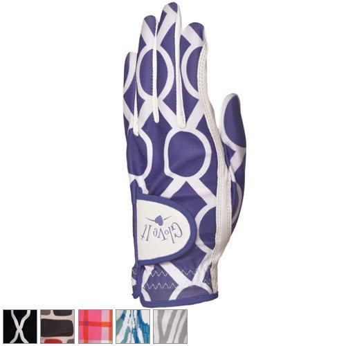 Glove It Women's Pinkadilly Plaid Golf Glove (Medium, Left Hand)
