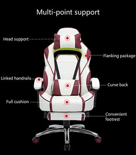 BOOSSONGKANG Silla Creative Gaming Chair - Silla Multifuncional reclinable para Masaje, Silla para computadora, ergonomia, Silla para s