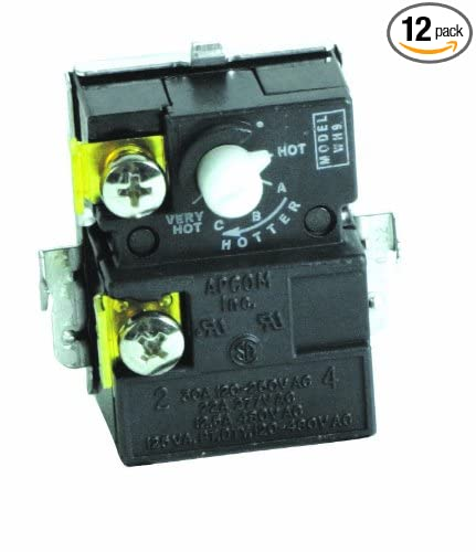 Pack of 12 Apcom Style WH9 Camco 07727 Lower Water Heater Thermostat
