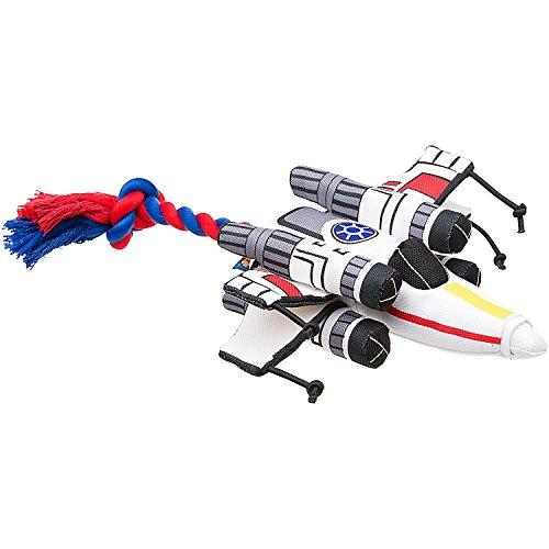 STAR WARS X-Wing Fighter Dog Toy, 15' L X 10' W