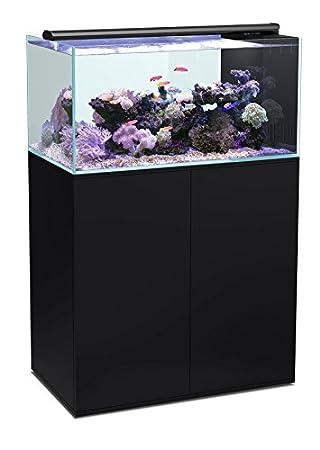 Agua de mar acuario, Juego, 270 L, ultra Clear Acuario + mueble como ...