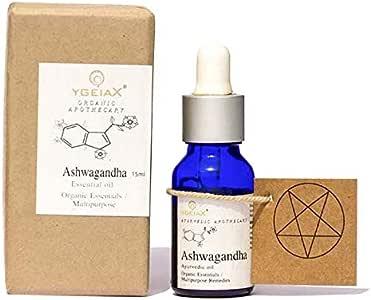Ashwagandha Essential Oil, Ashwagandha Oil 15 mL by ygeiax{Ayurveda}