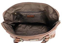 Scarleton Medium Belt Accent Tote Bag H126421 - Coffee