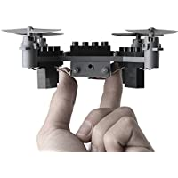 RC Helicopter mini Building Blocks Remote Control Quadcopter Drone For Child Gift DIY