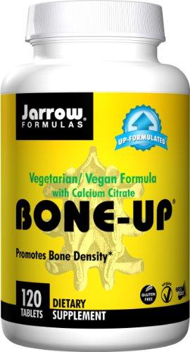 Jarrow Formulas Bone-Up (Vegetarian), Promotes Bone Density, 120 Easy-Solv Tabs