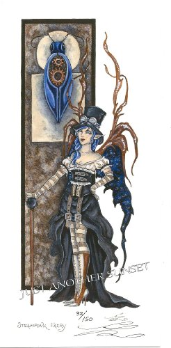 Steampunk Faery Amy Brown Limited Edition 5.5