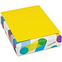 Mohawk BriteHue Multipurpose Colored Paper, 20 lb., 8-1/2 x 11 Inches, Sun Yellow, 500 Sheets/Ream (MOW472808)