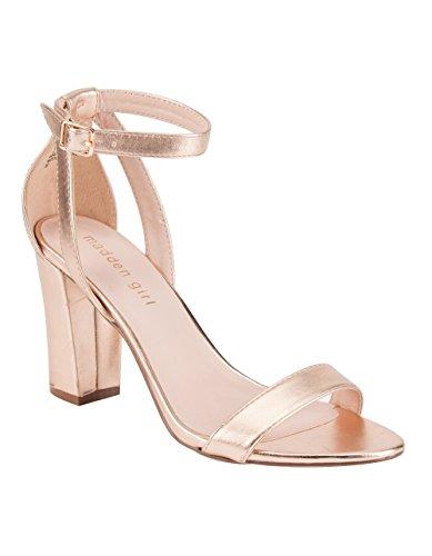 acbc0d028e22 Madden Girl Women s Binky Rose Gold Sandal - Buy Online in UAE ...