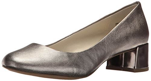 Klein Pewter Women's Navy Hallie Leather Anne Pump Uzwggq
