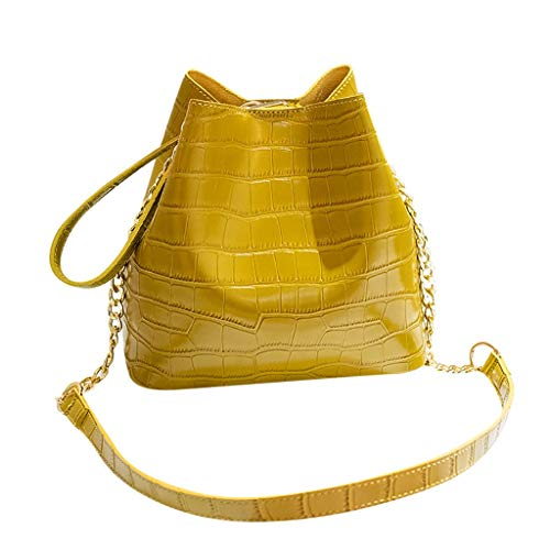 8fe3c832630be DEESEE(TM)Fashion Women Alligator Bucket Bag Handbag Messenger Bag Mobile