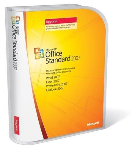 Microsoft Office Standard 2007 UPGRADE product image