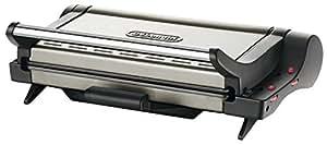 Delonghi CG 6601 - Grills de contacto, 2000 W, doble termostato, placas reversibles