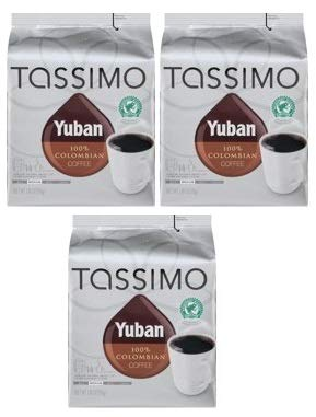 Yuban 100% Colombian Coffee T-Disc for Tassimo Brewing System, 14 count Wrapper (Pack of 3)