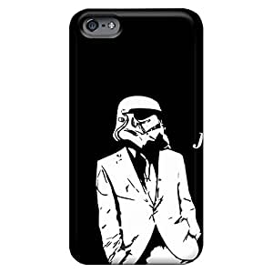 iphone 5 / 5s High-definition cell phone carrying shells Scratch-proof Protection Cases Covers Sanp On just chillin stormtrooper