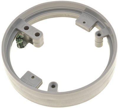 (Thomas & Betts E97ABR2 Light Lacquer Brass 1-Piece Metal Cover Adapter Carlon)
