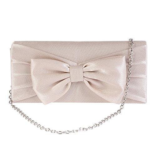 Bowknot Bridal Nayvblue Evening Detail Womens Damara Pretty Bag 7xqfwWPC