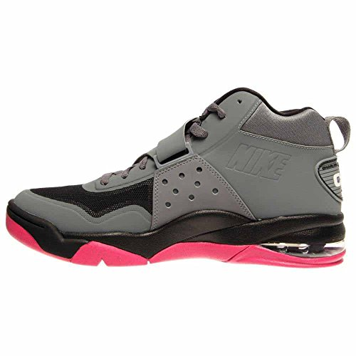 Nike Mens Force Max Cb 2 Scarpa Da Basket Hyperfuse 003-cool Grigio / Bianco-nero-vvd Rosa