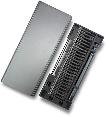 50本の精密ドライバーセット携帯電話/コンピューター/ラップトップ/ゲームコンソール/サングラス/家庭用電化製品用のアルミボックス付き磁気ドライバーキット修復ツール