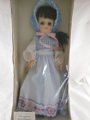 """Vintage Effanbee Chipper Doll 15"""" Vinyl New in original sealed box Fully Jointed"""