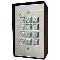 Seco-Larm SK-1123-SQ Weather-Resistant Illuminated Stand-Alone Keypad (1)