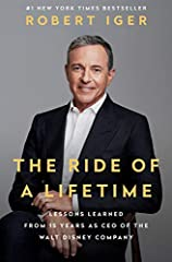 #1 NEW YORK TIMES BESTSELLER • A memoir of leadership and success: The CEO of Disney, Time's 2019 businessperson of the year, shares the ideas and values he embraced to reinvent one of the most beloved companies in the world and inspire the p...