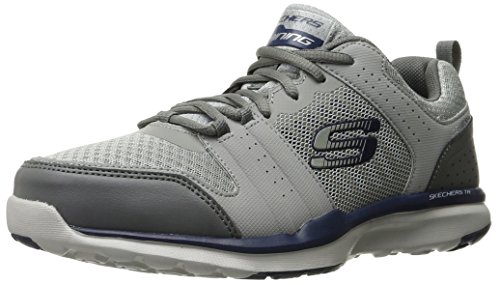 Skechers Herren Quick Shift TR Low-Top Grau