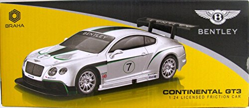 Braha Bentley Continental GT3 1:24 Licensed Friction Car