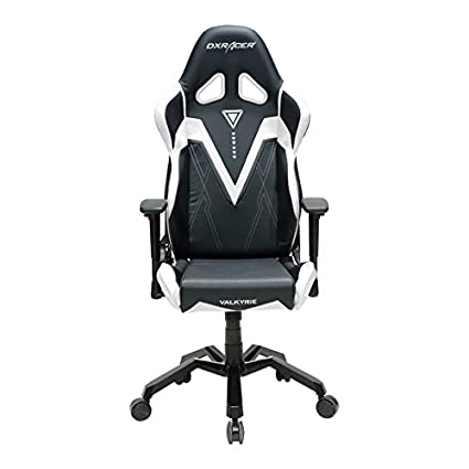 DXRacer Valkyrie Series DOH/VB03/NW Racing Bucket Seat Office Chair Gaming  Chair Ergonomic Computer Chair Esports Desk Chair Executive Chair Furniture