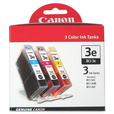 Cyan Tank 3e Bci Ink (BCI-3e Inkjet Cartridge Combo Pack)