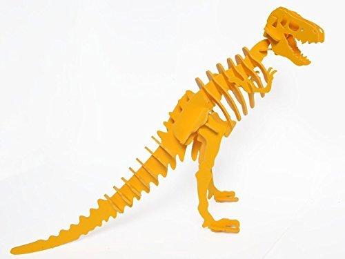 【タイムセール!】 Boneyard Pets REX-KYEL Pets T-Rex Dinosaur B010GJ5QTO REX-KYEL 3D Puzzle, Yellow B010GJ5QTO, 好評:fe6f9d4e --- diceanalytics.pk