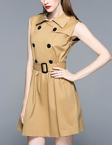 2Xl Caqui Micro Un Vestido De Gran Altura Elástico Línea De Caqui Fiesta JIALE3536 De Para Vestido Fiesta Mujer Vestidos Mujer FHnTfg