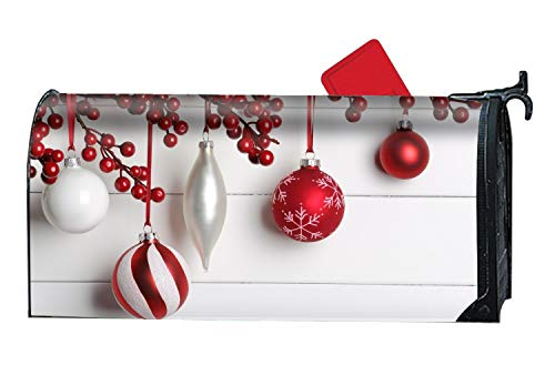 MAYS Christmas New Year Balls Custom Mailbox Covers Magnetic