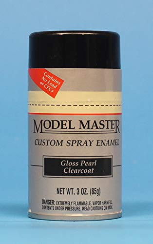 - Testors Model Master Spray Enamel Gloss Pearl Clearcoat 3oz. 85g #2944