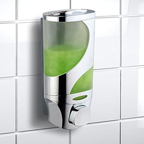 Hotelspa Wave Luxury Soap/shampoo/lotion Modular-design Shower Dispenser System (Pack of 1) (Bathroom Shower Soap Dispenser)