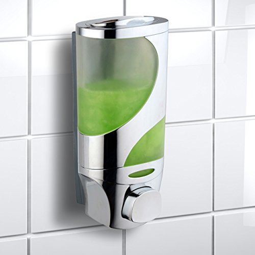 Hotelspa Wave Luxury Soap/shampoo/lotion Modular-design Shower Dispenser System (Pack of 1)