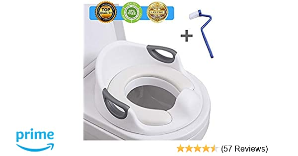 ed8459418d39 Amazon.com : Potty Training Seat for Kids Toddlers Boys Girls Toilet ...