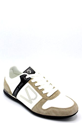 Bianco 70010 Uomo 45 Jeans Versace Sneakers 40 qF4t6W