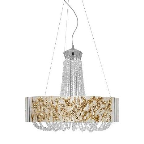 Giotia - Lámpara de techo (cromo, G9, 40 W, 6 focos): Amazon ...