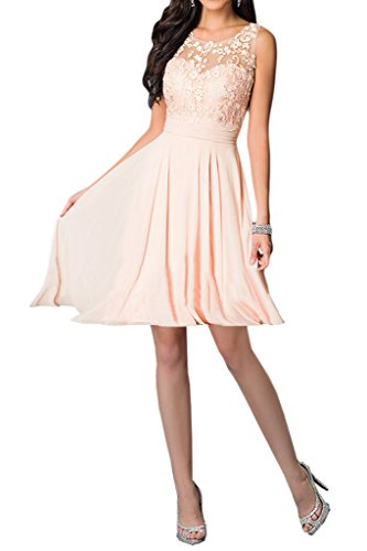 Vestido trapecio mujer 1 Pink Missdressy para 67wnqx