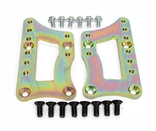 MotoMfg Engine Swap Bracket SBC LS Conversion Motor Mount Adjustable Plate LS1 LS3 Adapter Motor