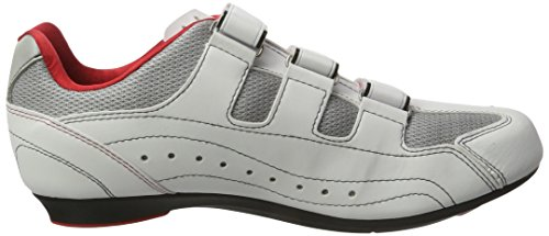 XLC adultos Guantes Comp Road de Shoes Tour CB de R03 Blanco - blanco