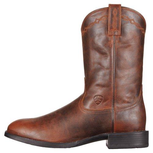 Ariat Men's Heritage Roper Boot Round Toe Brown 13 D(M) US