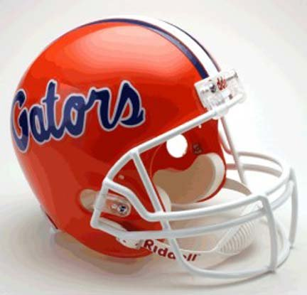 (NCAA Florida Gators Deluxe Replica Football Helmet)