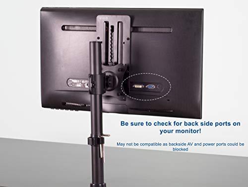 VIVO Height Adjustable VESA Adapter Accessory Bracket Kit Individual Monitor 13'' to 27'' Screens (Stand-VAD3) by VIVO (Image #4)