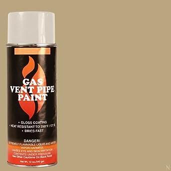 Estufa brillante ti-8552 Vermont Castings Gas Vent pintura, 250 grados F Rango de